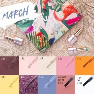 EPIC SET 1 MARCH Aba Group - zestaw produktów do stylizacji metodą hybrydową