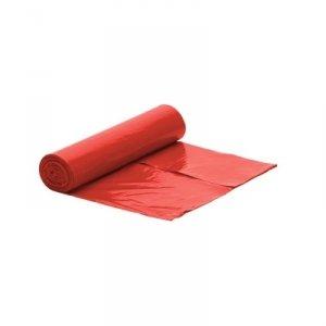 Worek czerwony na śmieci PREMIUM LDPE 35 L/rolka 50 szt