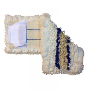Mop trójskładnikowy DUO kieszeń+klips 50 cm