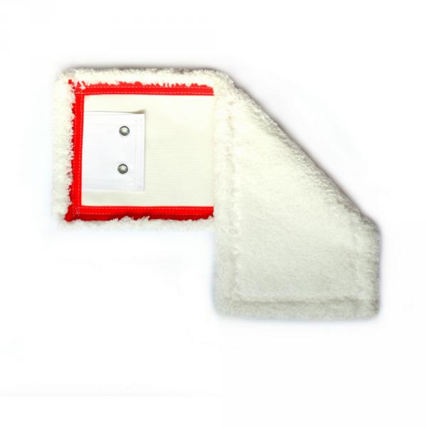 Mop mikrofaza klips z oczkami 40cm