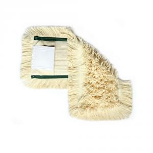 Mop bawełniany DUO kieszeń+klips 50cm