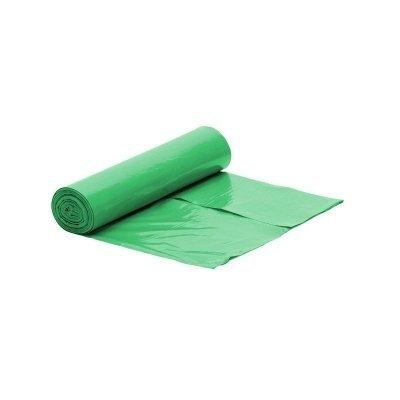 Worek zielony na śmieci LDPE 60 L/rolka 50 szt