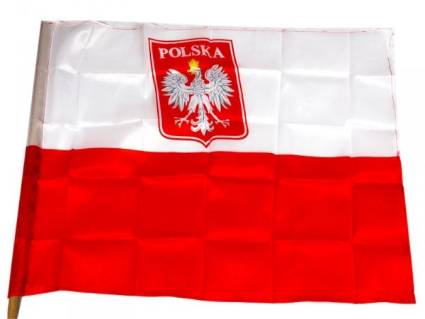 2373 FLAGA POLSKI NARODOWA FLAGI POLSKA 81x60 BANDERA