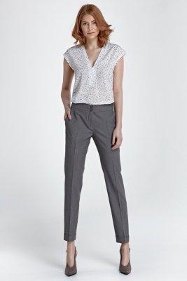 Spodnie z mankietami - szary - SD27