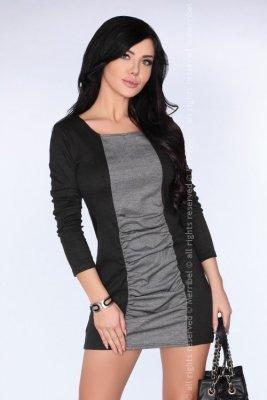 CG006 Gray sukienka