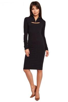 B008 sukienka czarna