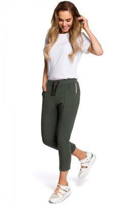 M411 Spodnie długości 7/8 - khaki