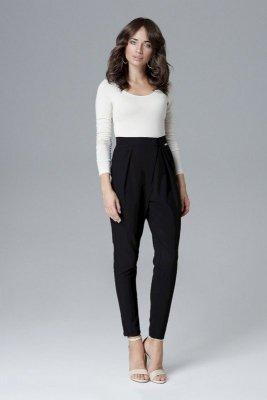 Monochromatyczne spodnie