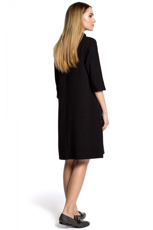 M353 Sukienka czarna