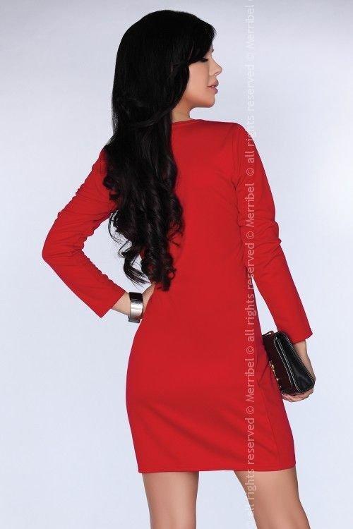 CG005 Red sukienka