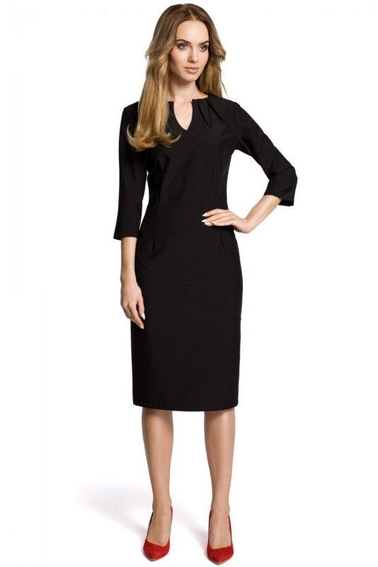 M366 Sukienka czarna