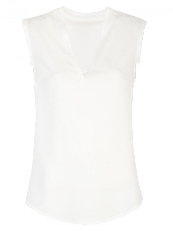Delikatna bluzka - ecru - CB12