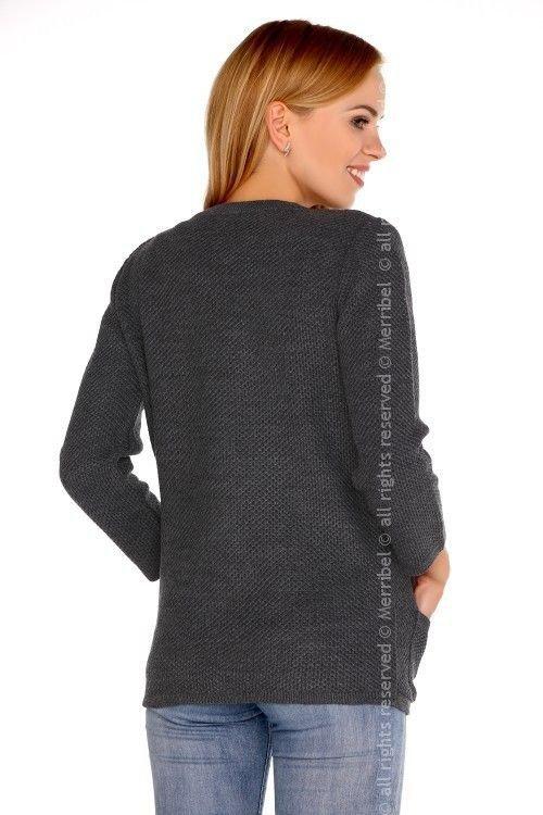 Hetiena Graphite sweter