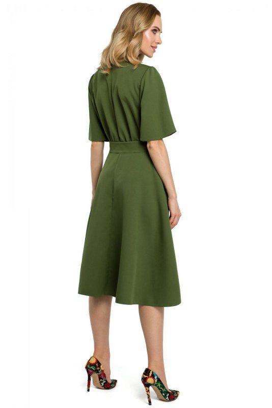 M396 Sukienka - zielona