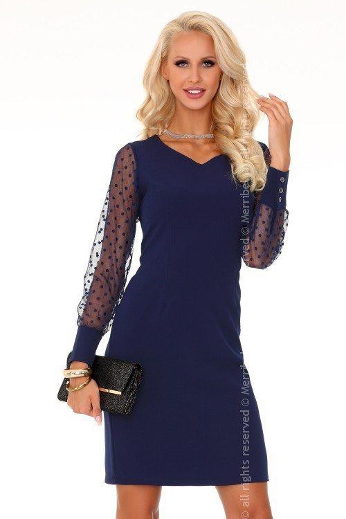 Nausica Dark Blue 85315 sukienka
