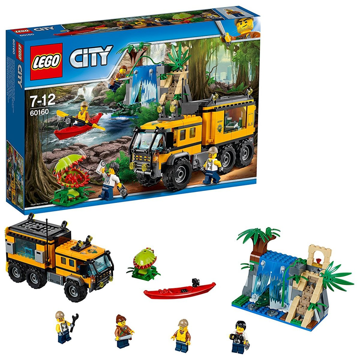 Lego City 60160 Mobilne Laboratorium Dżungla City Lego Klocki