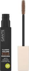 Sante Naturkosmetik Tusz do rzęs zwiększający objętość CLASSIC VOLUME brązowy