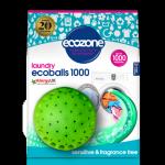 Ecozone Ecoballs kule piorące na 1000 prań SENSITIVE bezzapachowe