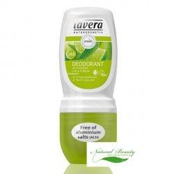 Lavera  Dezodorant roll-on z bio-werbeną i bio-limonką