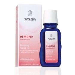 Weleda Łagodzący olejek migdałowy do pielęgnacji twarzy 50 ml