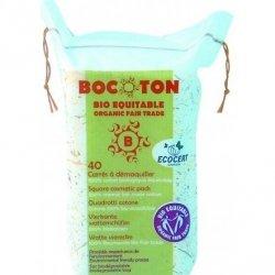 Bocoton Eko płatki kosmetyczne - kwadratowe 40szt
