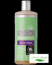 Urtekram Szampon z aloesem do włosów suchych 500 ml