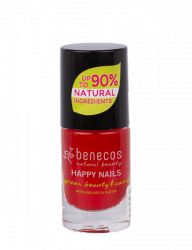 Benecos Lakier do paznokci VINTAGE RED 5 ml.