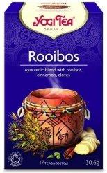 YOGI TEA®  Ajurwedyjska herbata WYKWINTNY ROOIBOS z cynamonem i goździkami (Rooibos)