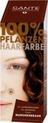 Sante Naturkosmetik Roślinna farba do włosów w proszku MARONENBRAUN / kasztanowy brąz