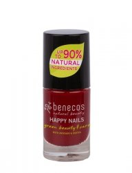 Benecos Lakier do paznokci CHERRY RED 5 ml