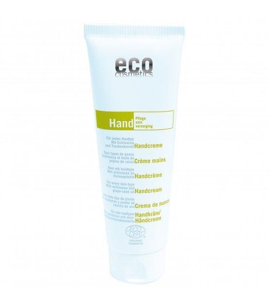 Eco Cosmetics Krem do rąk z echinaceą i olejem z pestek winogron, 125 ml