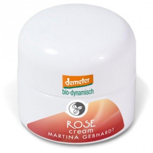 Martina Gebhardt ROSE Różany krem do cery suchej i wrażliwej  50 ml.