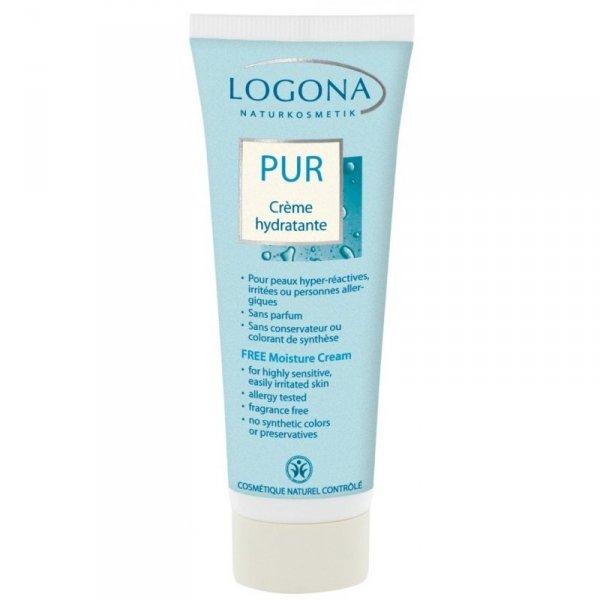 Logona PUR Krem nawilżający do twarzy do skóry alergicznej 50 ml.