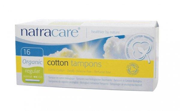 Natracare Tampony higieniczne z aplikatorem regular 16 szt
