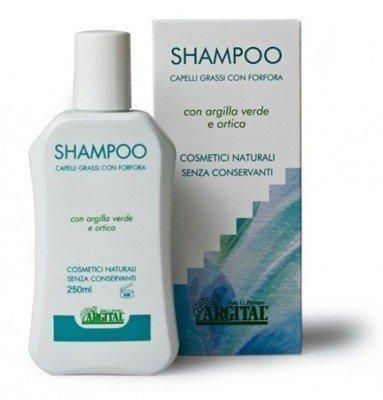 Argital Szampon do włosów przetłuszczjących się i przeciwłupieżowy 250 ml.