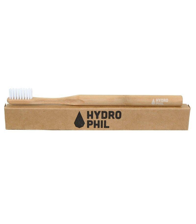Hydrophil Ekologiczna szczoteczka do zębów ŚREDNIA bezbarwna