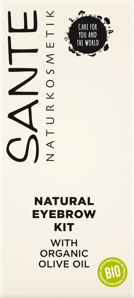 Sante Naturkosmetik Zestaw do makijażu i pielęgnacji brwi