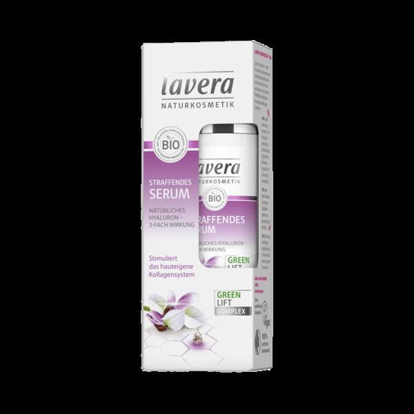 Lavera Serum ujędrniające z kwasem hialuronowym i kompleksem Green Lift
