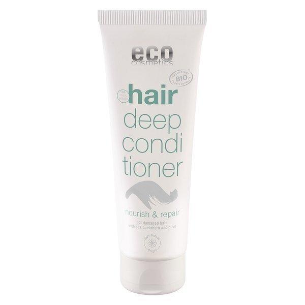 eco cosmetics Maska do włosów odżywczo-regenerująca z rokitnikiem i oliwą