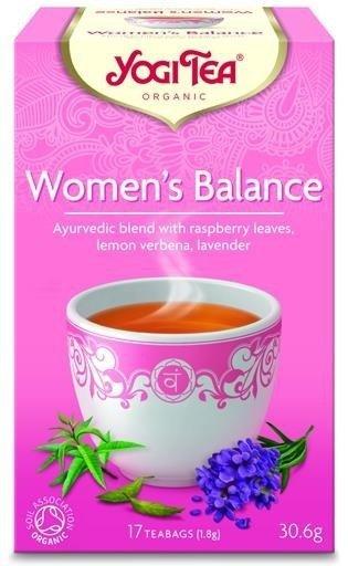 YOGI TEA Herbata Dla kobiety: harmonia WOMEN'S BALANCE