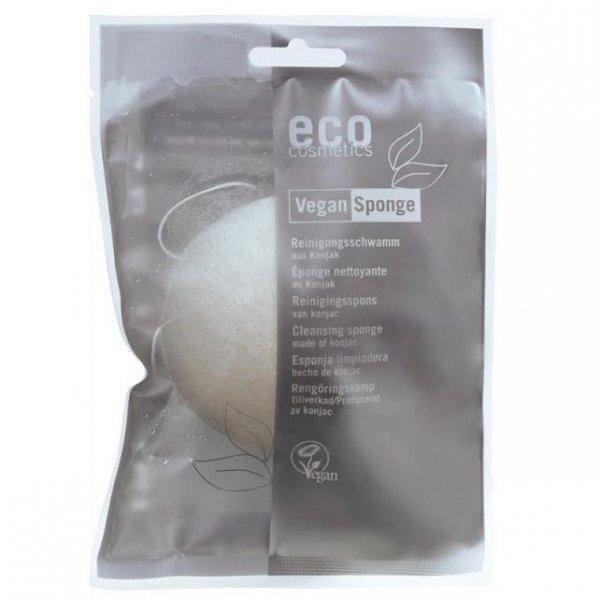 Eco cosmetics Gąbka Konjac do twarzy i ciała