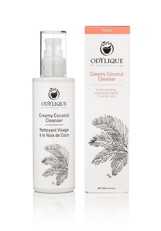 Odylique by Essential Care organiczny krem kokosowy do oczyszczania twarzy i demakijażu, 30 ml