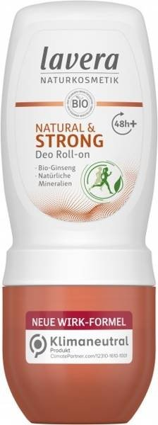 Lavera Dezodorant roll-on dla aktywnych z bio-żeń-szeniem i minerałami