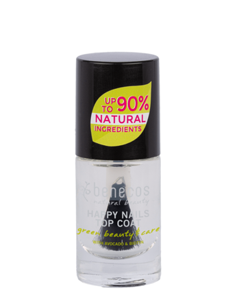 Benecos Lakier do paznokci Top Coat CRYSTAL 5 ml