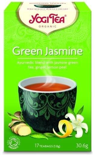 YOGI TEA®  Zielona herbata jaśminowa  (Green Jasmine)