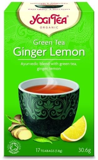 YOGI TEA® ZIELONA herbata IMBIROWO-CYTRYNOWA (Green Tea Ginger Lemon)