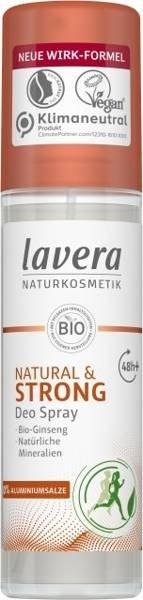 Lavera Dezodorant spray dla aktywnych z bio-żeń-szeniem i minerałami