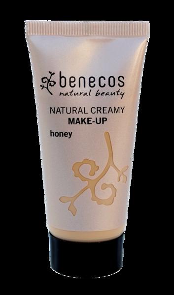 Benecos Mineralny Podkład w kremie HONEY (miód)