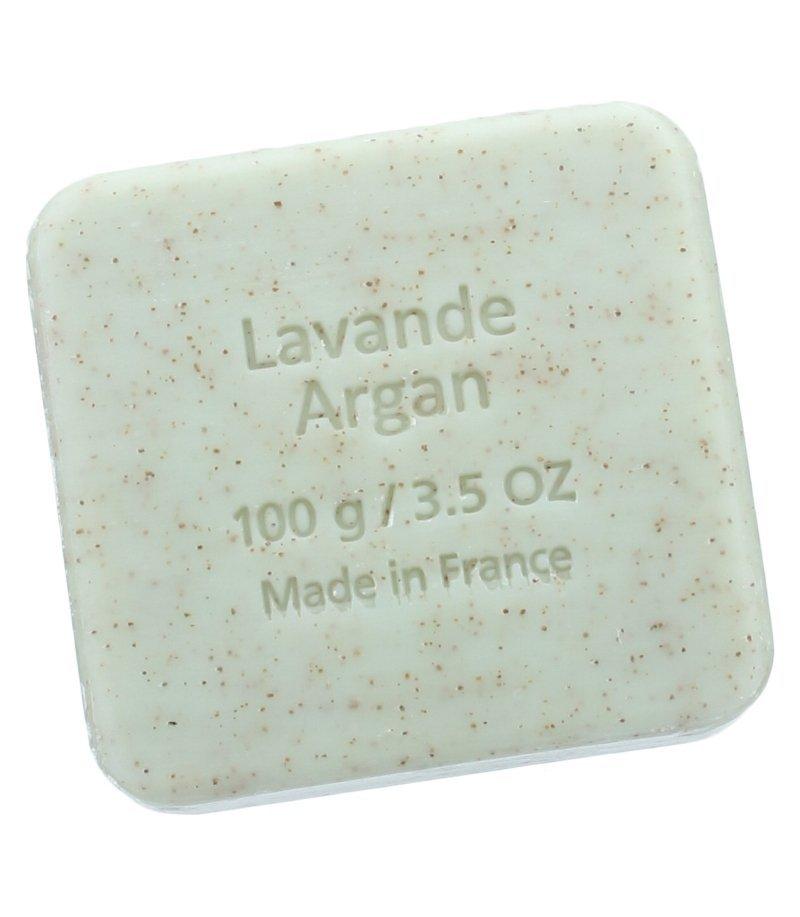Savon du Midi Mydło peelingujące z olejem arganowym i laweną