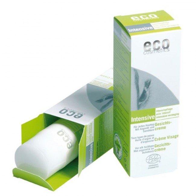 eco cosmetics Intensive krem do twarzy intensywnie pielęgnujący z olejkiem arganowym i rokitnikiem, 50 ml